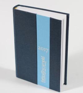 Agenda tascabile giornaliera bicolore - Fatto @ Scampia