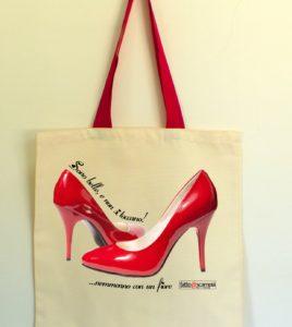 Shopper cotone NO VIOLENZA