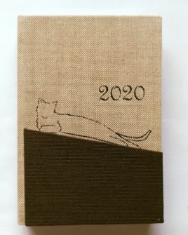Agenda piccola Brown Cat 13,5x9,5cm