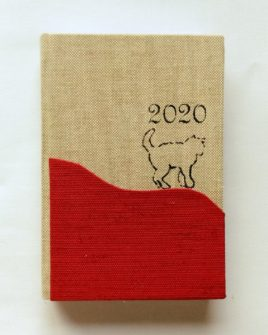 Agenda tascabile giornaliera Red Cat 13,5x9,5cm