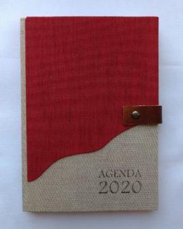 AGENDA GRANDE RED 21X15CM