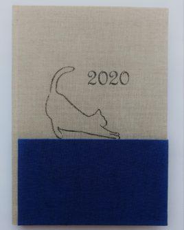 AGENDA GRANDE BLU CAT 21X15 CM