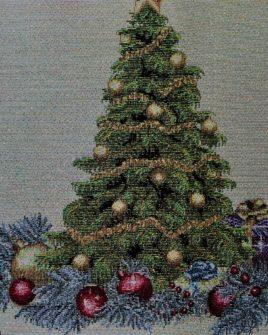 Coppia di tovagliette natalizie