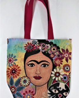 Borsa chicca - frida CON gatto