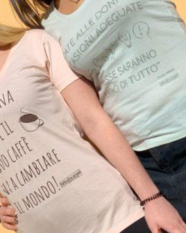 T-shirt donna light green