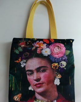 borsa country frida nature - velluto