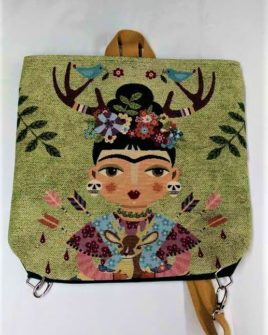 zaino sofia - frida doll animal